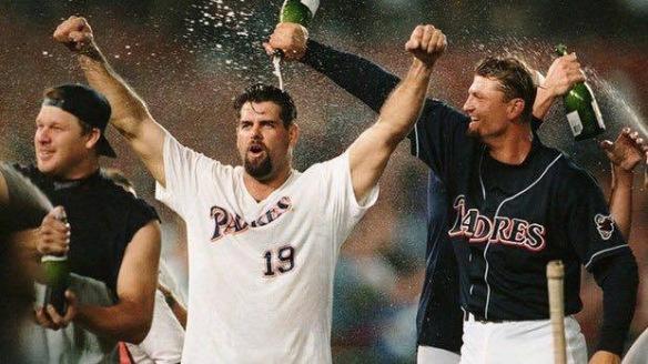 1998 Padres Ken Caminiti &Trevor Hoffman