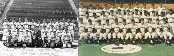 1936 & 1969 Padres