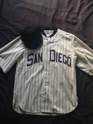 1936 PCL Padres jersey from Ebbets Field Flannels.