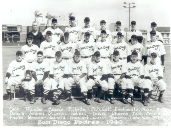 1940 San Diego PCL Padres