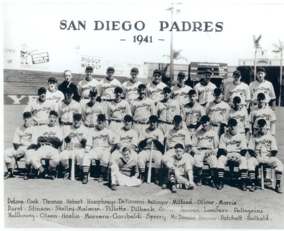 1941 San Diego PCL Padres