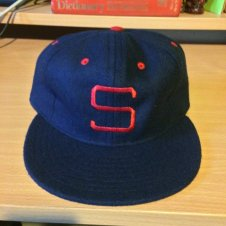 1952 PCL Padres cap from Ebbets Field Flannels.