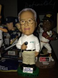 Jerry Coleman bobblehead.