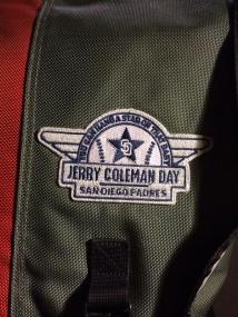 Jerry Coleman Day patch.