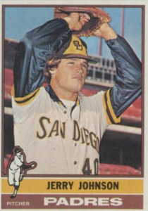Jerry Johnson San Diego Padres