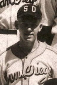 Mel Skelley 1941 Padres Team Photo