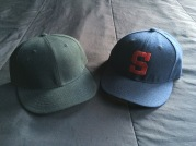 PCL Padres caps (1936 & 1948) by New Era.