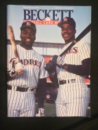 In 1991, both Tony Gwynn and Fred McGriff were featured on the cover of Beckett Baseball Card Monthly. Needless to say, I had to get my hands on it.
