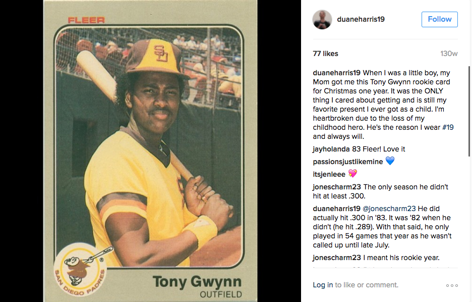 Remembering Tony Gwynn Ninety Feet Of Perfection