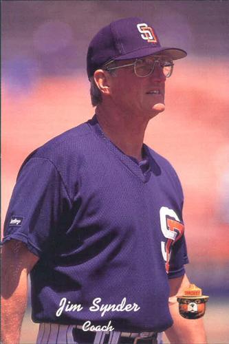 Jim Snyder Padres