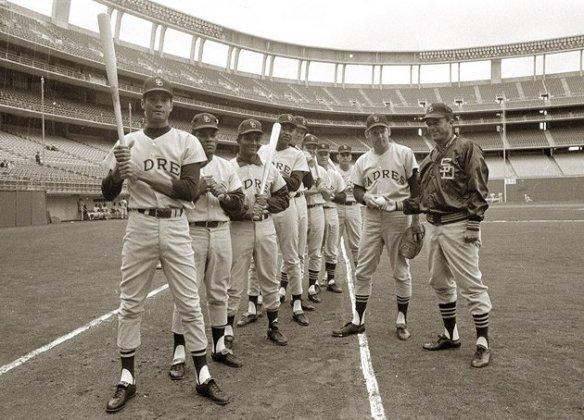 1969 Padres Original Lineup