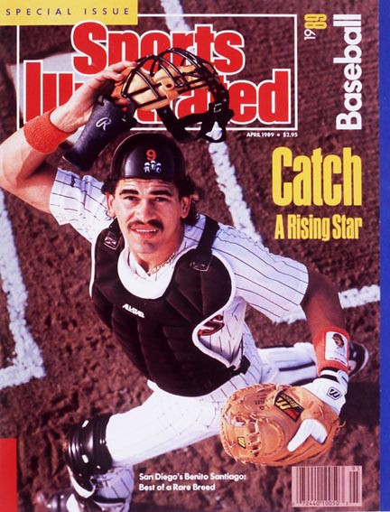Benito Santiago Padres Sports Illustrated