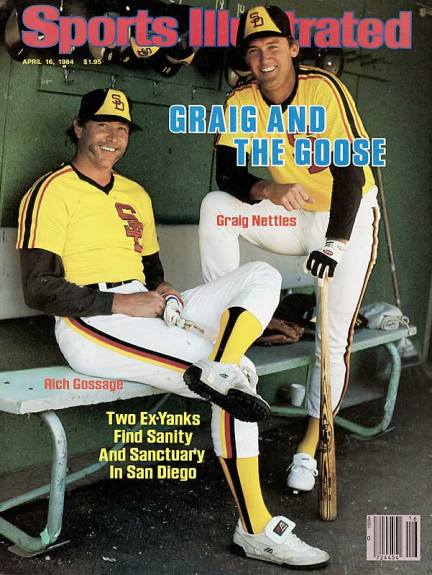 Goose Gossage Graig Nettles Padres Sports Illustrated