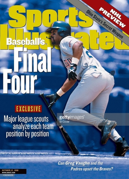 Greg Vaughn Padres Sports Illustrated