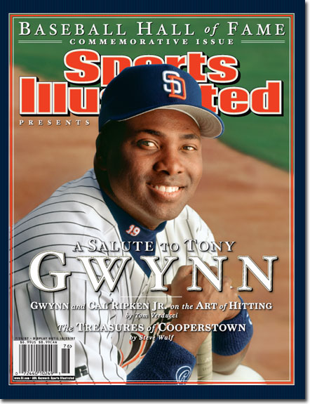Gwynn Padres HOF Sports Illustrated