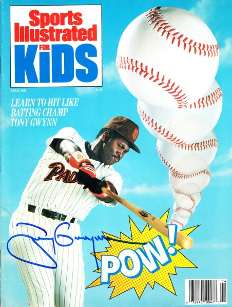 Tony Gwynn Padres Sports Illustrated for Kids