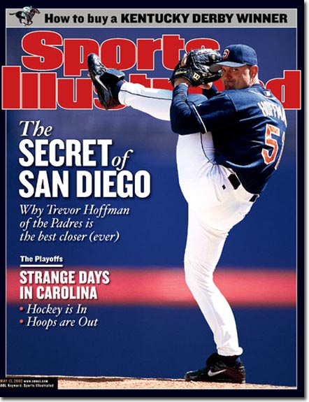 Trevor Hoffman Padres Sports Illustrated