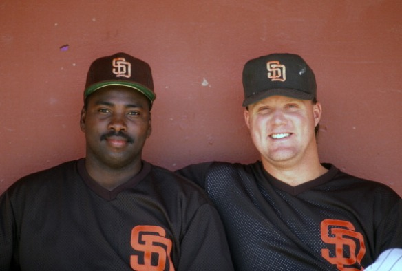 Tony Gwynn & Mark Grants Padres