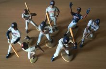 Every Tony Gwynn Starting Lineup figure, including the limited region edition 1989 figure.